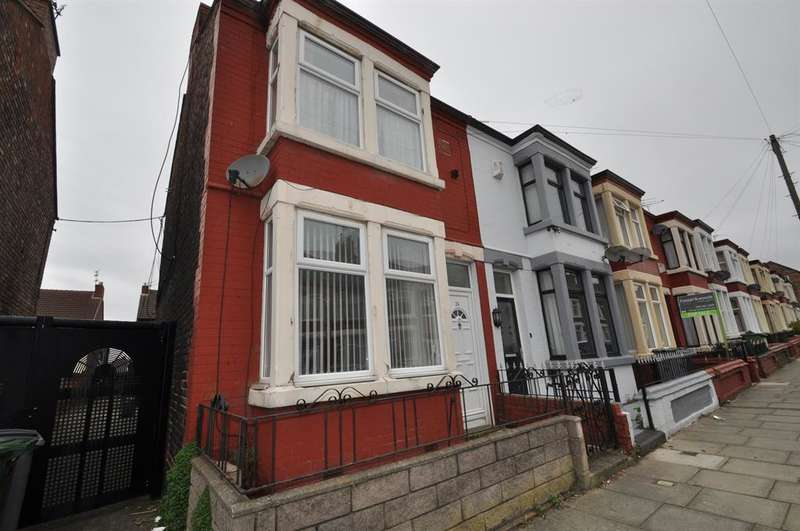 3 Bedrooms Semi Detached House for sale in Ilford Avenue, Wallasey, CH44 4BU