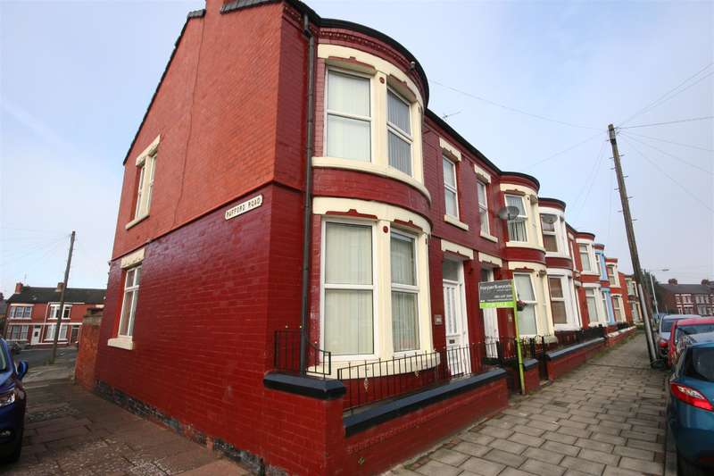 3 Bedrooms End Of Terrace House for sale in Hillcroft Road, Wallasey, CH44 4BL