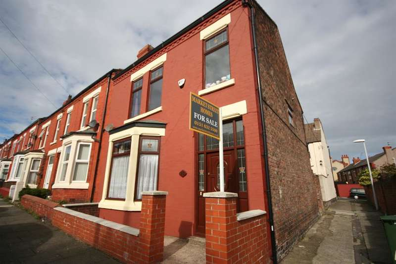 3 Bedrooms Terraced House for sale in Ash Grove, Wallasey, CH45 1NJ