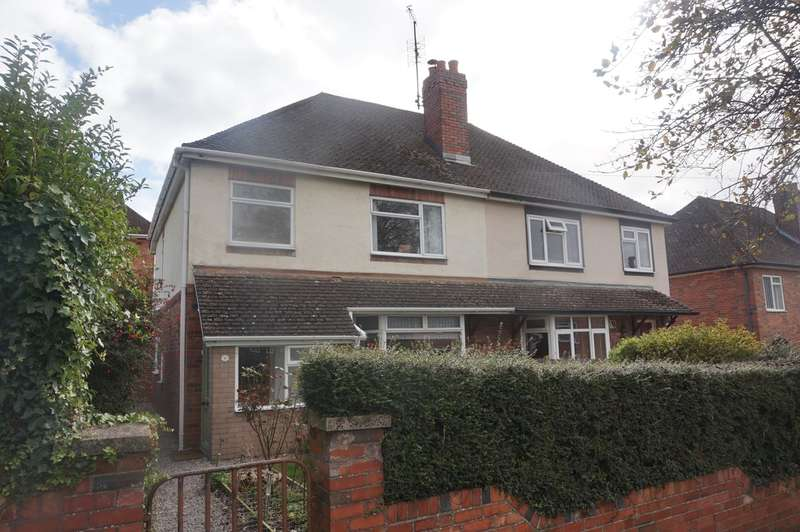 3 Bedrooms Semi Detached House for sale in Hillcrest Road, Abergavenny, NP7
