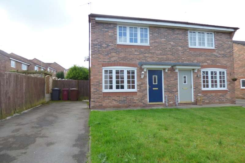 2 Bedrooms Semi Detached House for sale in Wagstaffe Close, Blackburn, BB2
