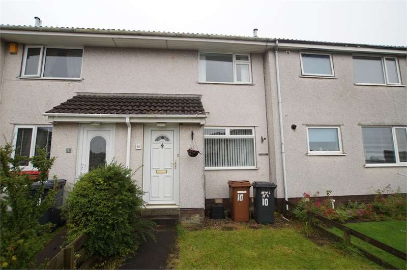 2 Bedrooms Terraced House for sale in CA28 6UH Greenlands Close, WHITEHAVEN, Cumbria