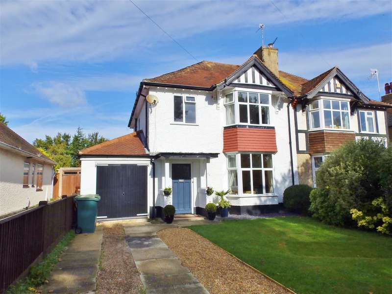 4 Bedrooms Semi Detached House for sale in Park Avenue, Eastbourne