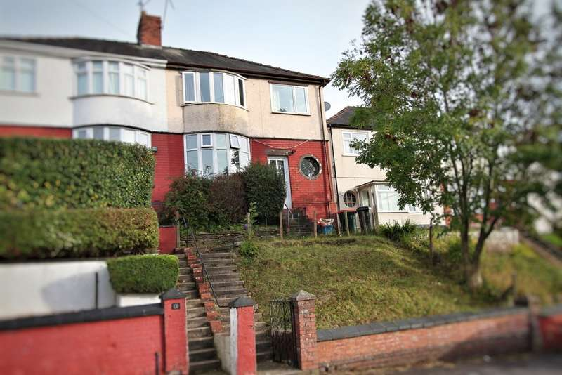 3 Bedrooms Semi Detached House for sale in Brynglas Road, NEWPORT