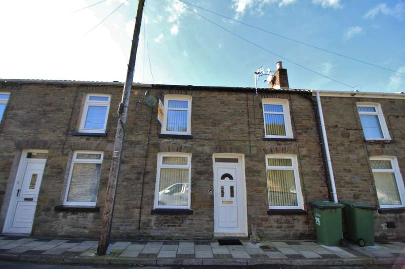 3 Bedrooms Terraced House for sale in School Street, Deri, Bargoed, CF81