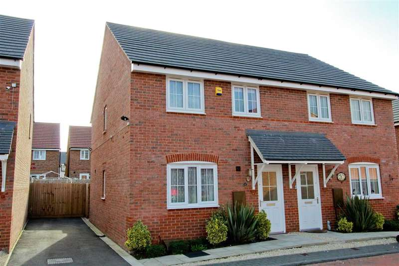 3 Bedrooms Semi Detached House for sale in Keel Close, Wigston
