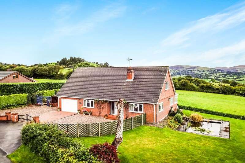 3 Bedrooms Detached House for sale in Brithdir, Llanfyllin, SY22