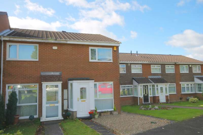 2 Bedrooms Semi Detached House for sale in Burnham Avenue, West Denton Park, Newcastle Upon Tyne, NE15