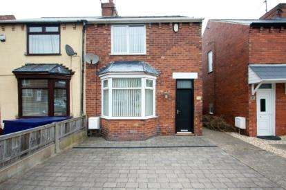 2 Bedrooms Semi Detached House for sale in Stainforth Street, Mansfield Woodhouse, Mansfield, Nottinghamshire