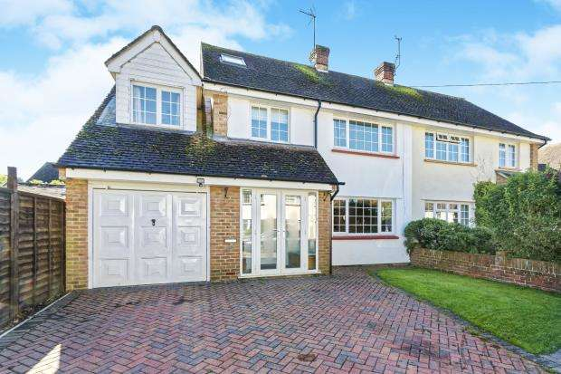 5 Bedrooms Semi Detached House for sale in Worplesdon, Guildford, Surrey