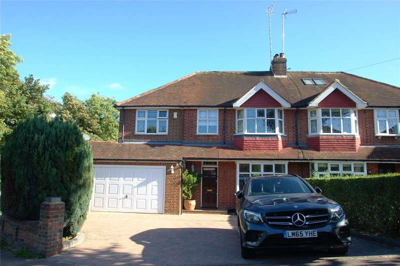 5 Bedrooms Semi Detached House for sale in Becketts Avenue, St. Albans, Hertfordshire, AL3