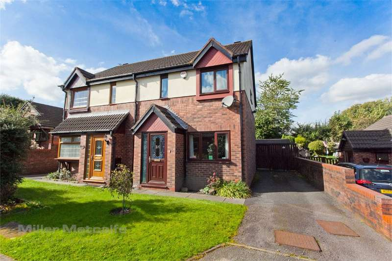 3 Bedrooms Semi Detached House for sale in St Dominics Mews, Bolton, BL3