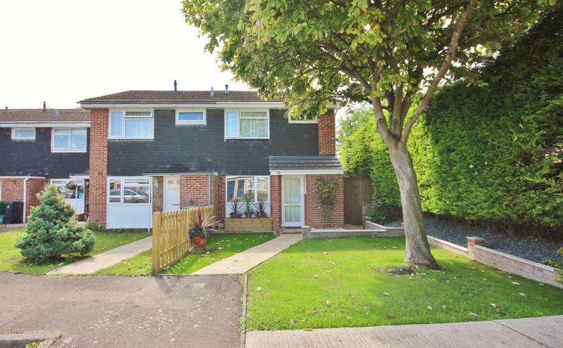 3 Bedrooms End Of Terrace House for sale in Sharland Close, Grove, Wantage, OX12