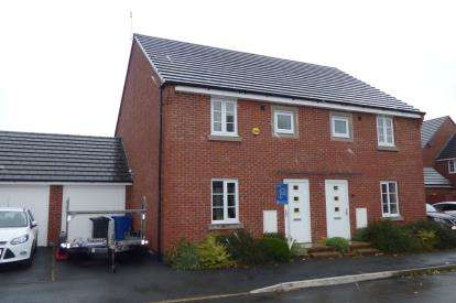 3 Bedrooms Semi Detached House for sale in Jefferson Drive, Chapelford Village, Warrington, Cheshire