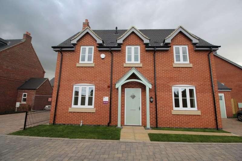 4 Bedrooms Detached House for sale in Hanbury Etwall Road, Willington, Derby, DE65