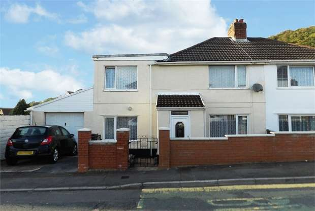4 Bedrooms Semi Detached House for sale in Mayberry Road, Baglan, Port Talbot, West Glamorgan