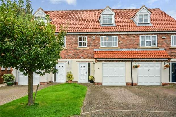 4 Bedrooms Terraced House for sale in Fieldside Court, Tadcaster, North Yorkshire