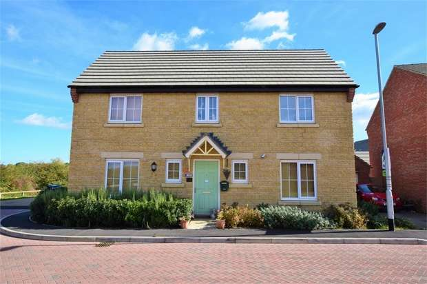 4 Bedrooms Detached House for sale in Mayfly Road, Dragonfly Meadows, Northampton