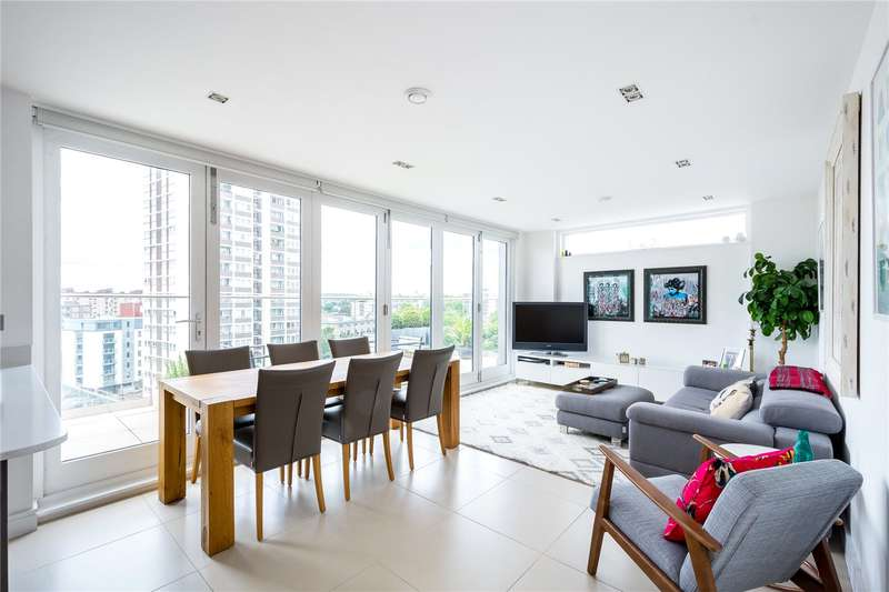 3 Bedrooms Flat for sale in The Spectrum Buildings, East Road, London, N1