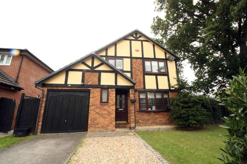 4 Bedrooms Detached House for sale in Measham Way, Lower Earley