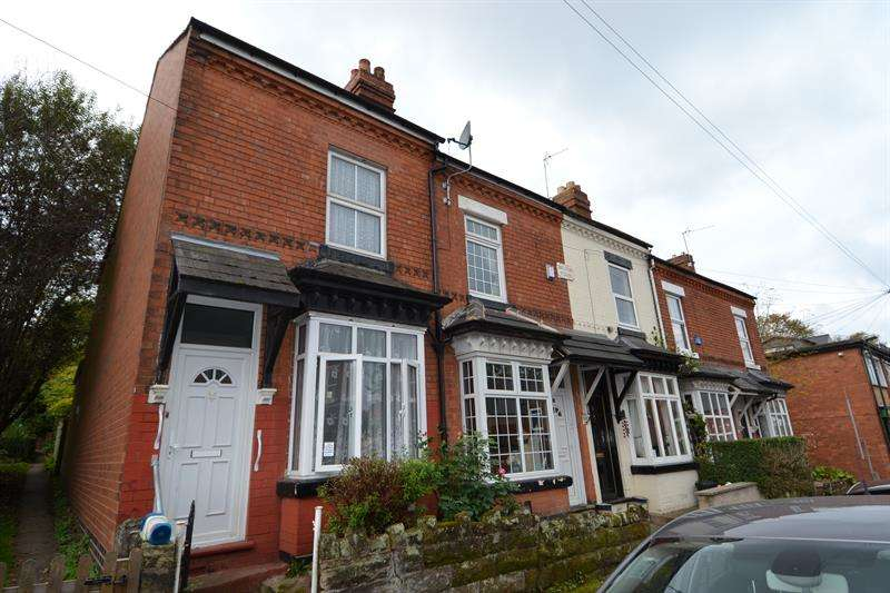 2 Bedrooms End Of Terrace House for sale in Tudor Road, Moseley, Birmingham