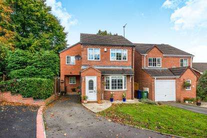 4 Bedrooms Detached House for sale in Pagets Chase, Nr Cannock Wood, Cannock, Staffordshire