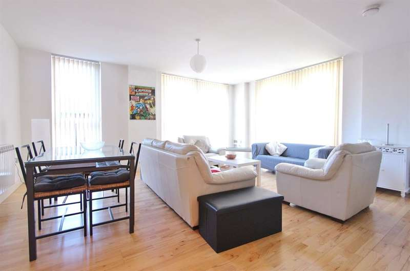 2 Bedrooms Flat for rent in Jet Centro, St. Marys Road, Sheffield, S2 4AH