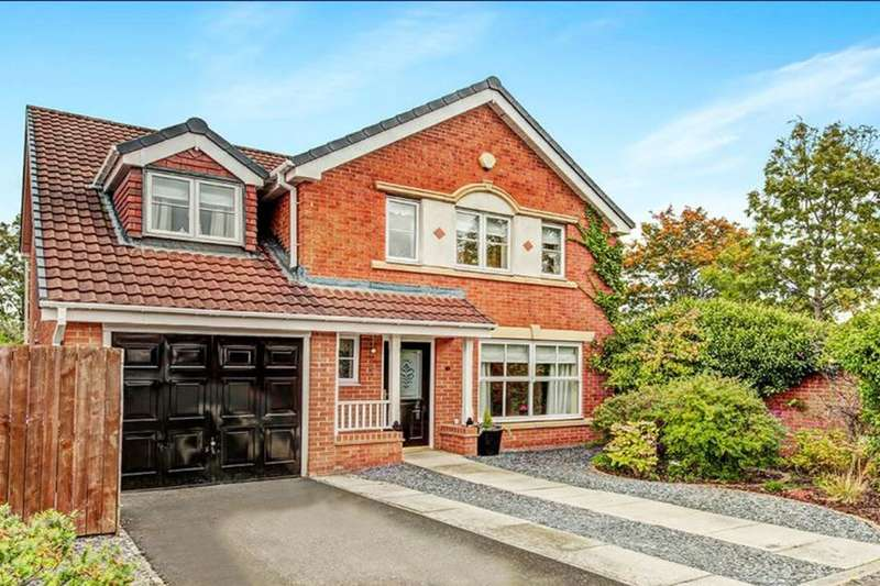 5 Bedrooms Detached House for sale in Loxton Square, CRAMLINGTON, NE23