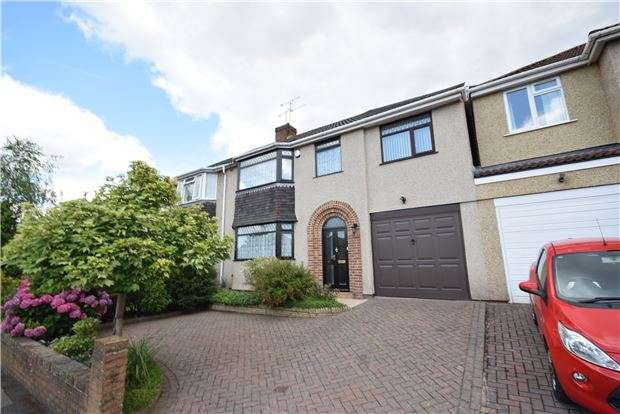 4 Bedrooms Semi Detached House for sale in Heath Road, Downend, BRISTOL, BS16 6HF
