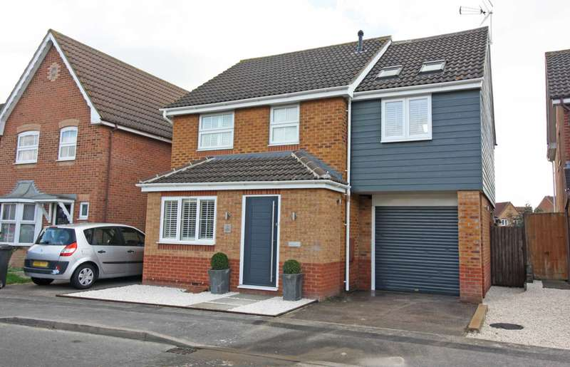 4 Bedrooms Detached House for sale in Longford Way, Didcot