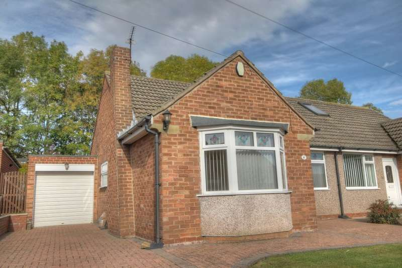 1 Bedroom Semi Detached Bungalow for sale in Woodlands, Throckley, Newcastle Upon Tyne, NE15