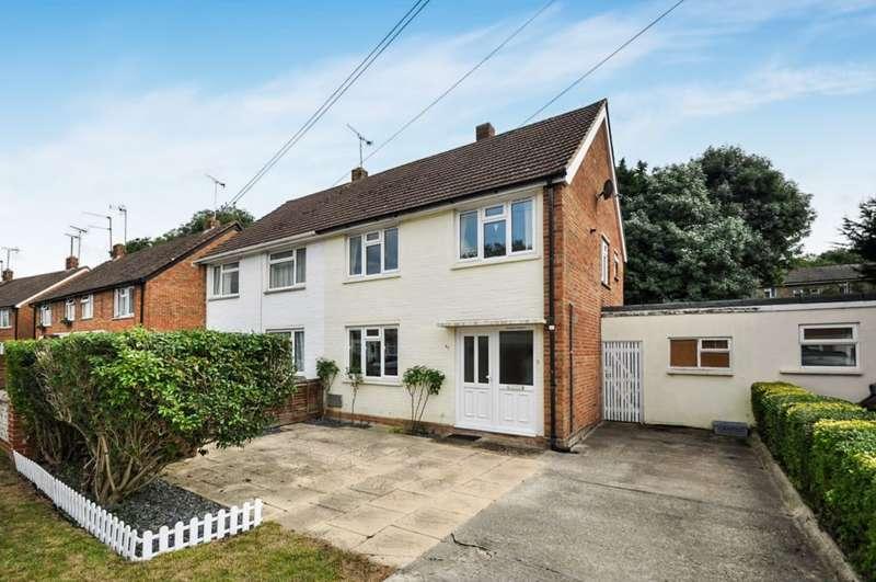 3 Bedrooms Semi Detached House for sale in Longs Way, Wokingham, RG40 1QW