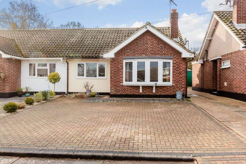 3 Bedrooms Semi Detached House for sale in Sharlands Close, Wickford, Essex, SS11 8LU