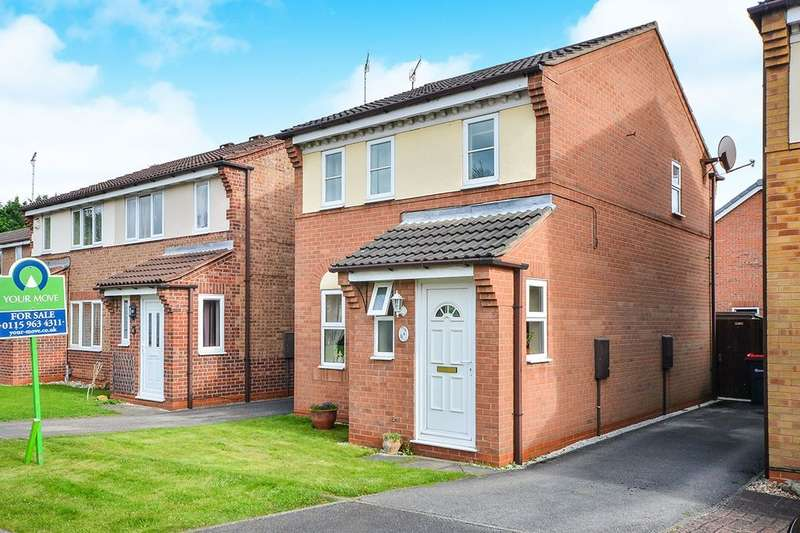 3 Bedrooms Detached House for sale in Broomhill Park View, Hucknall, Nottingham, NG15
