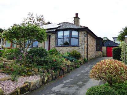 2 Bedrooms Bungalow for sale in Crescent Drive, Furness Vale, High Peak, Derbyshire