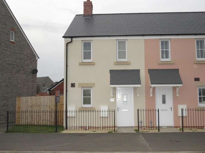 2 Bedrooms End Of Terrace House for sale in Heol Stradling, Coity, Bridgend