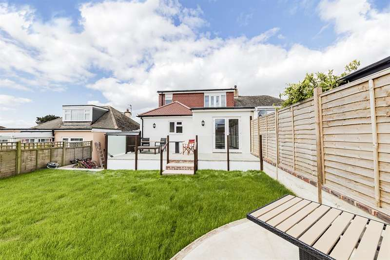 4 Bedrooms Semi Detached House for sale in Griffiths Ave, North Lancing , West Sussex, BN15 0HW