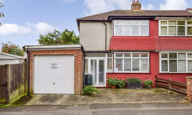 2 Bedrooms End Of Terrace House for sale in Malvern Gardens, Loughton, Essex