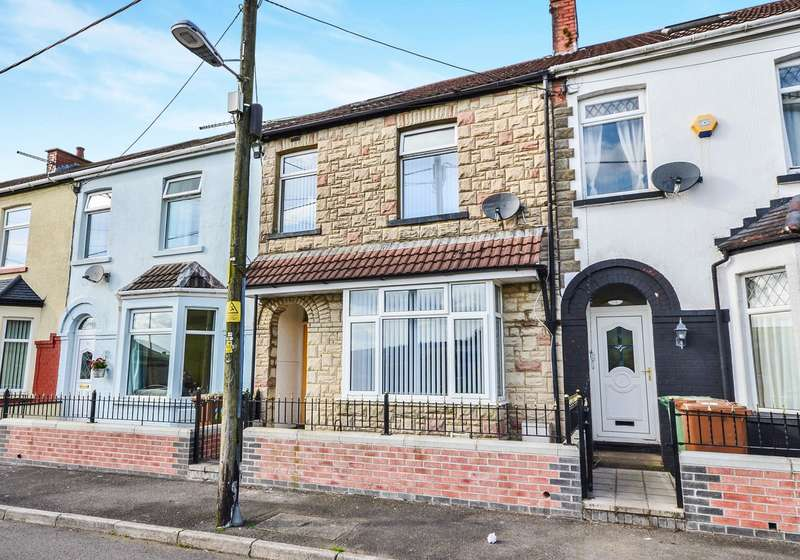 3 Bedrooms Terraced House for sale in Graig Terrace, Senghenydd, Caerphilly, CF83