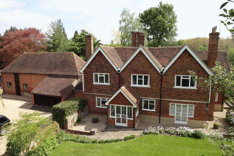 5 Bedrooms Detached House for sale in Smiths Hill, West Farleigh