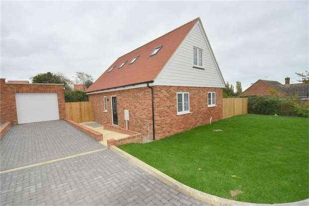 3 Bedrooms Chalet House for sale in Rosemary Gardens, Broadstairs, Kent