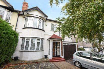 4 Bedrooms Semi Detached House for sale in Montbelle Road, London