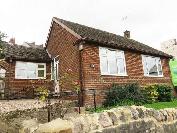2 Bedrooms Detached Bungalow for sale in Parkside, Belper, Derbyshire