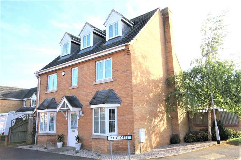 5 Bedrooms Detached House for sale in Rye Close, Sleaford, NG34