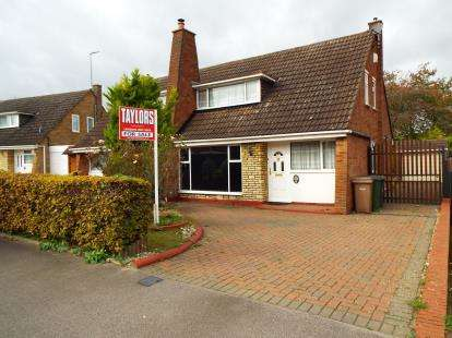 3 Bedrooms Semi Detached House for sale in Bunyans Close, Luton, Bedfordshire