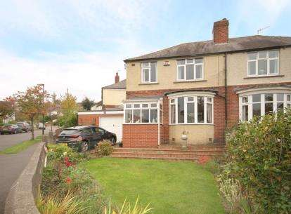3 Bedrooms Semi Detached House for sale in Greystones Grange Road, Sheffield, South Yorkshire