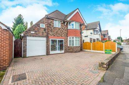 4 Bedrooms Detached House for sale in Bescot Drive, Walsall, West Midlands