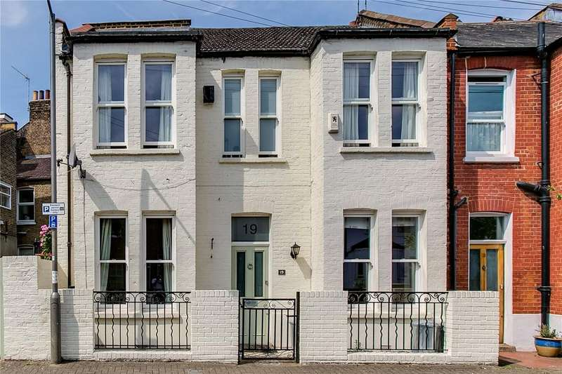 3 Bedrooms End Of Terrace House for sale in Oakhill Place, East Putney, London