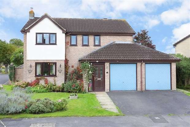 4 Bedrooms Detached House for sale in Priddy Close, Frome