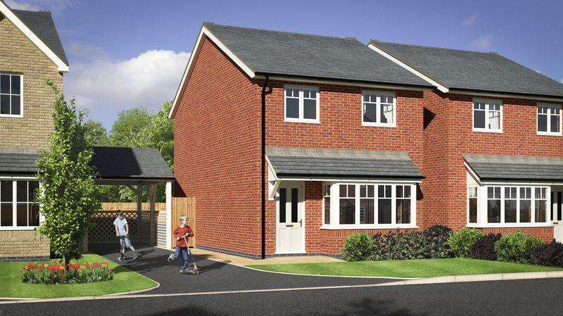 3 Bedrooms Detached House for sale in Plot 34, Meadow Dale, Barley Meadows, Llanymynech